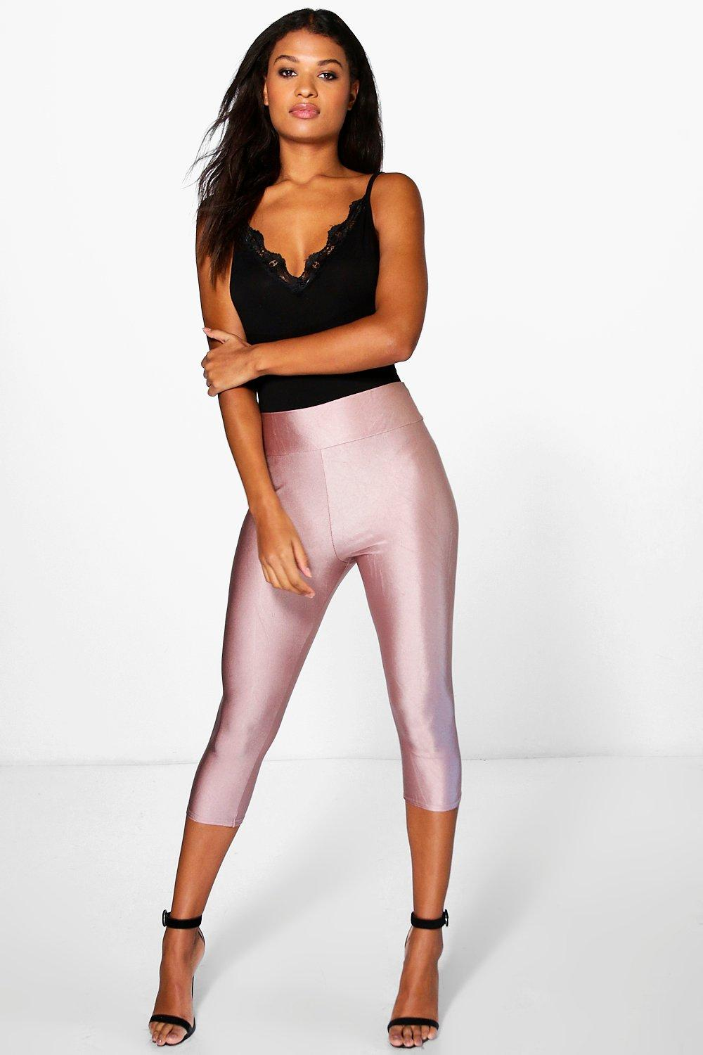 Viola 3/4 Length High Waist Disco Pants