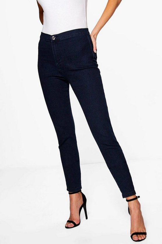 Lara High Rise Tube Jeans