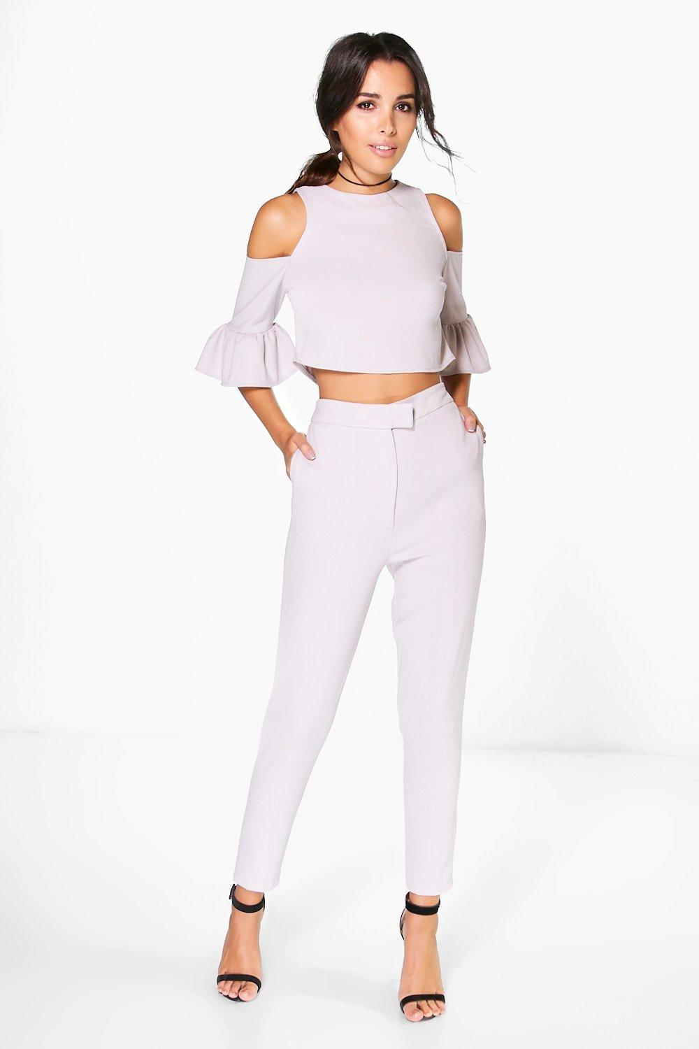 Sarah Woven Tailored Trouser