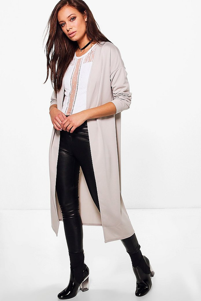 Julia Collarless Duster