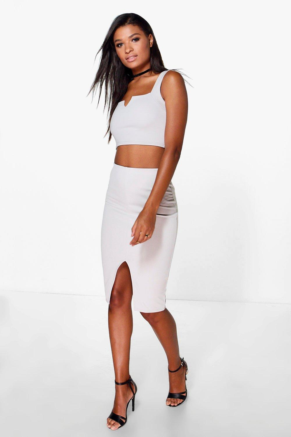 Julia Top and Midi Skirt Set