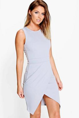 Keira Tailored Split Bodycon Dress