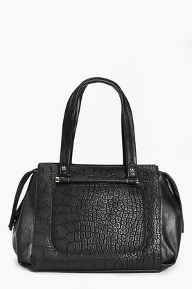 Brooke Mock Croc Day Bag