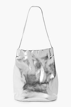 Summer Metallic Corner Detail Shopper