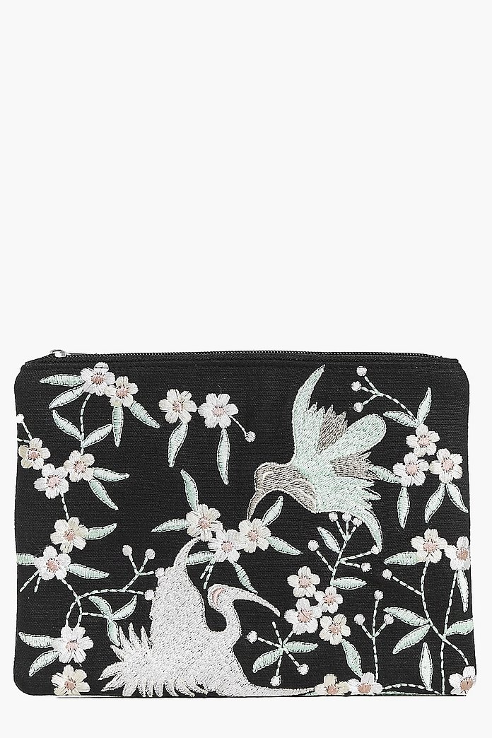 Lara Boutique Embroidered Clutch Bag