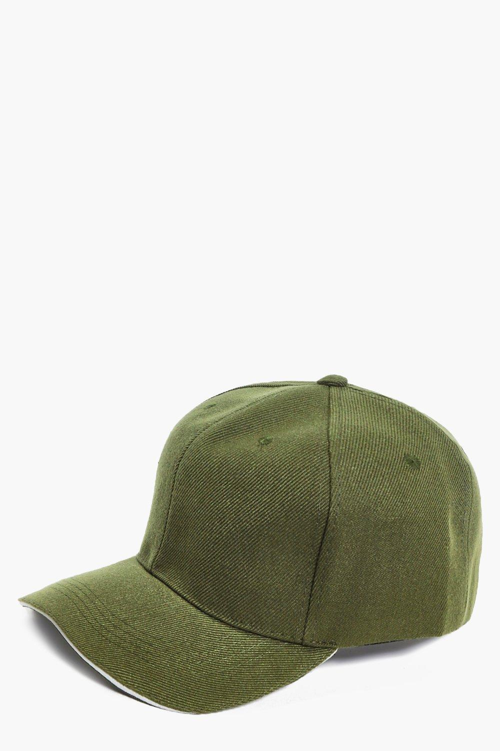 Mae White Trim Baseball Cap