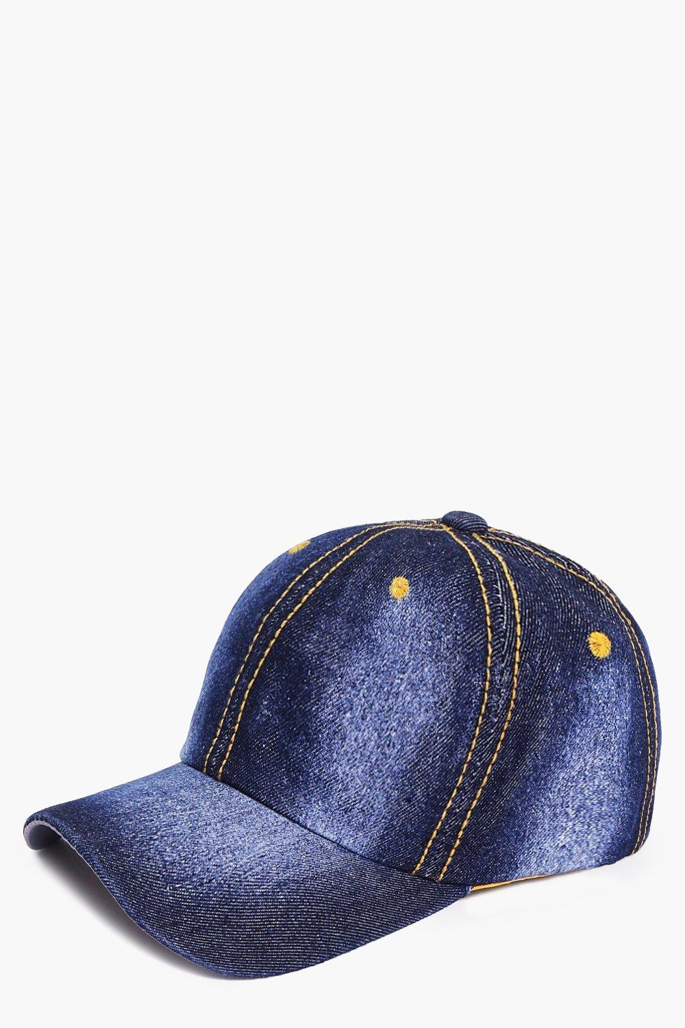Cerys Washed Denim Baseball Cap