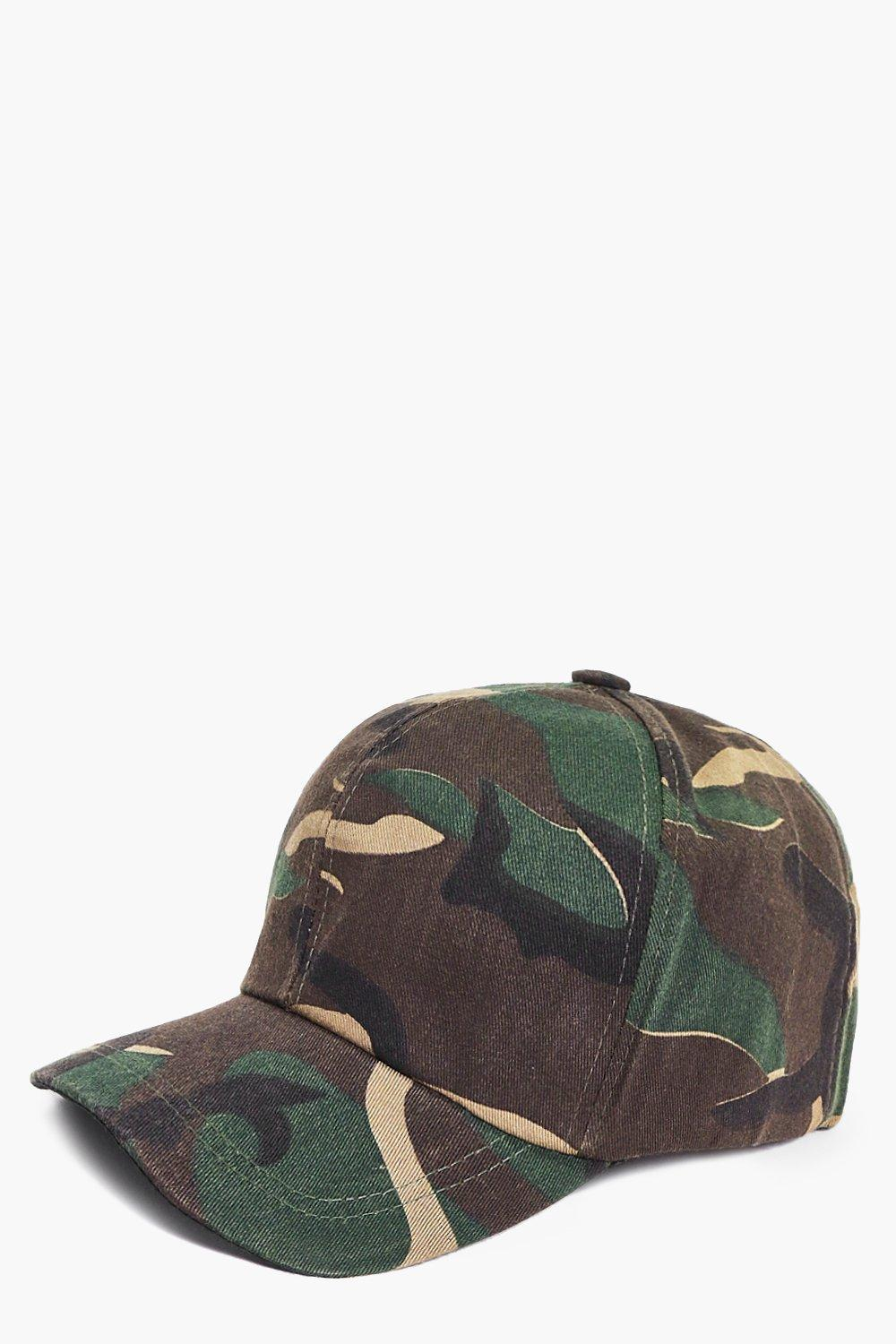 Ebony Dark Camo Baseball Cap