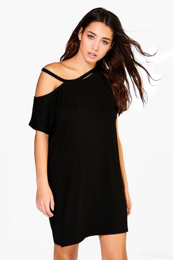 Mia Strappy T-Shirt Dress