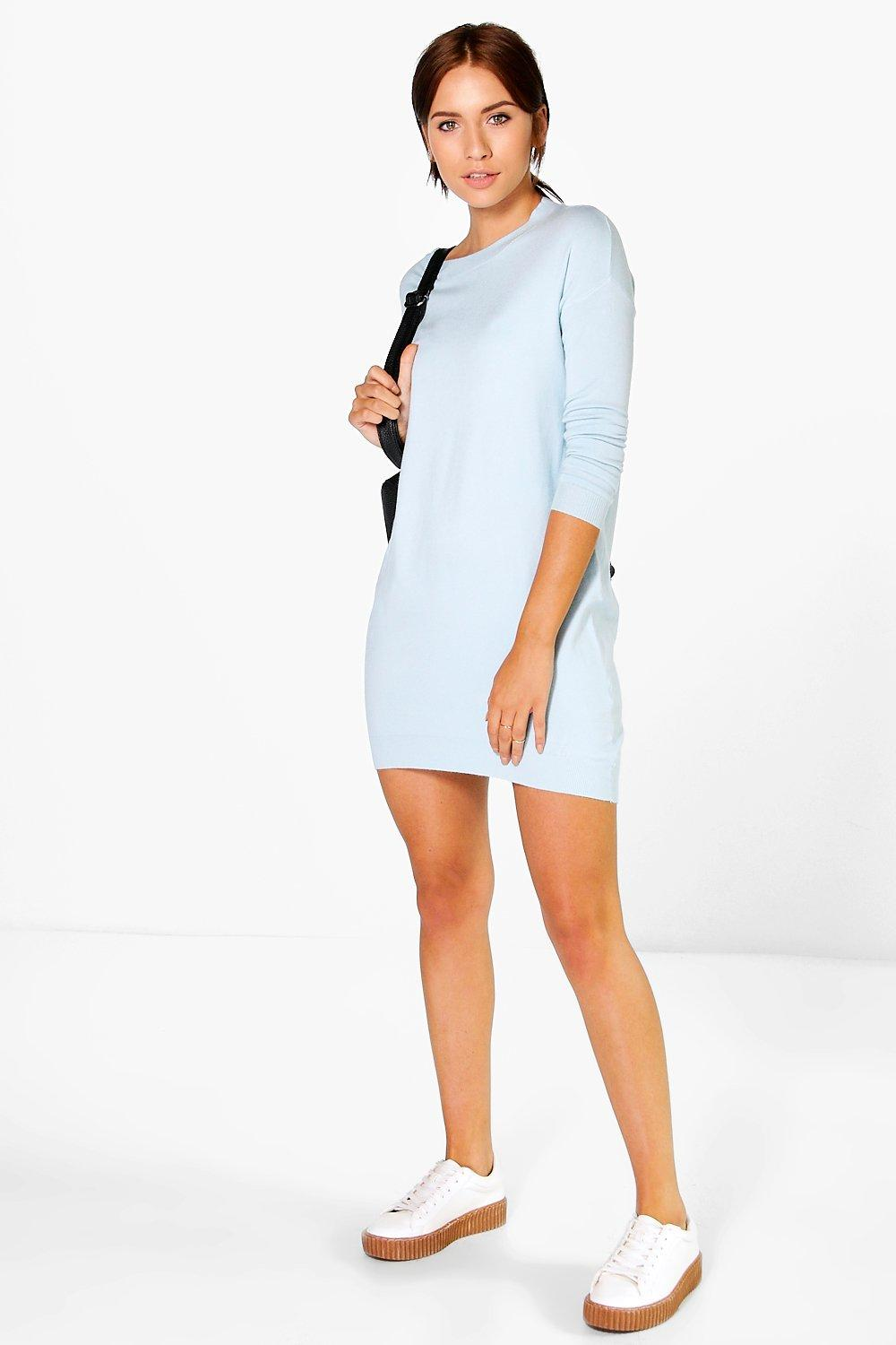Mia Soft Fine Knit Jumper Dress