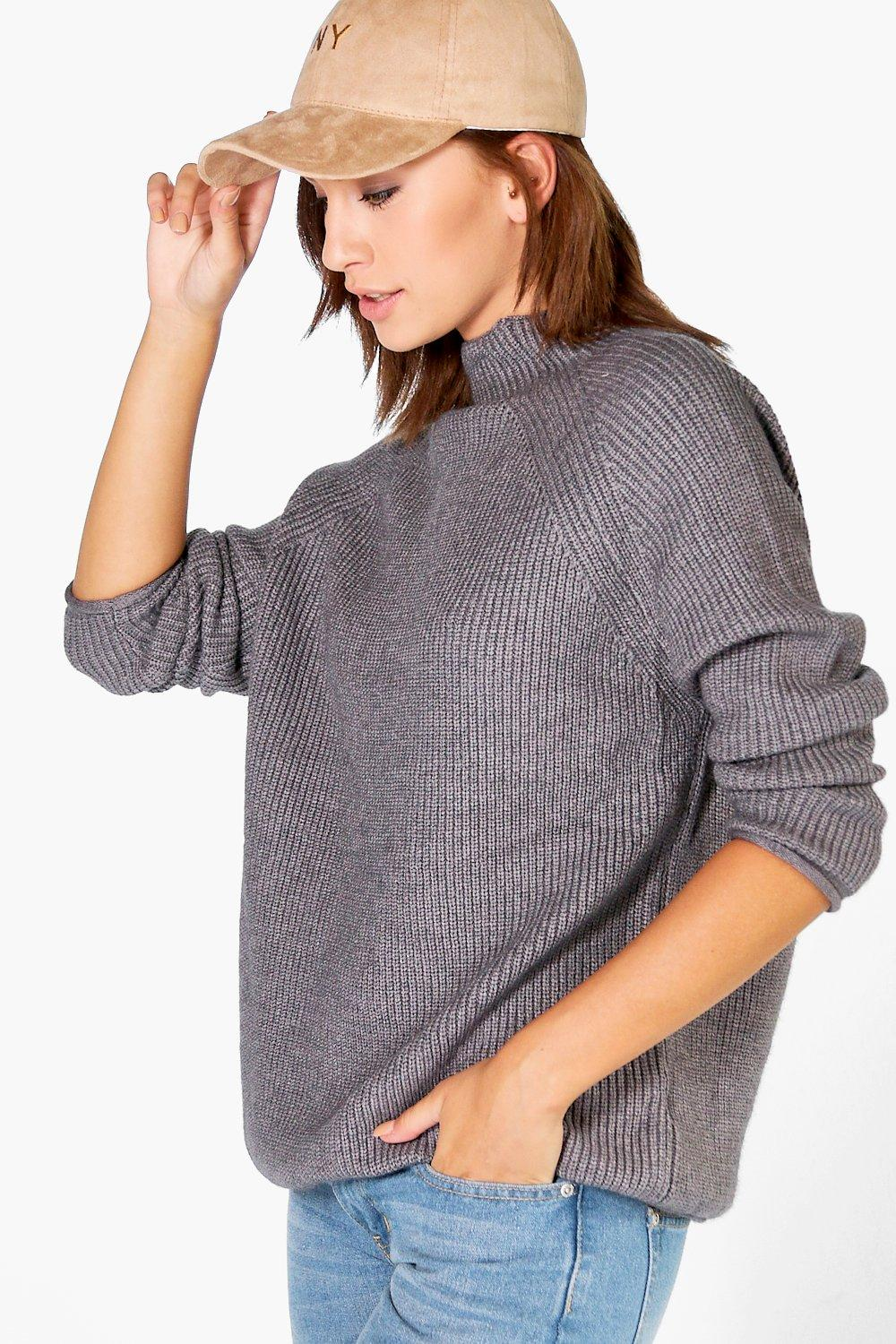 Phoebe Funnel Neck Soft Knit Jumper