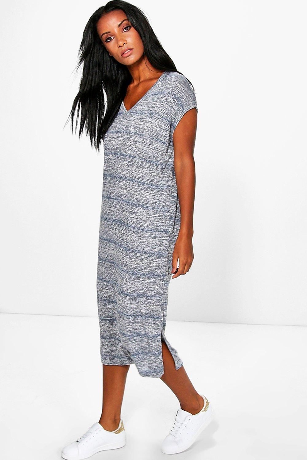 Sophia Oversized Marl Knit Dress