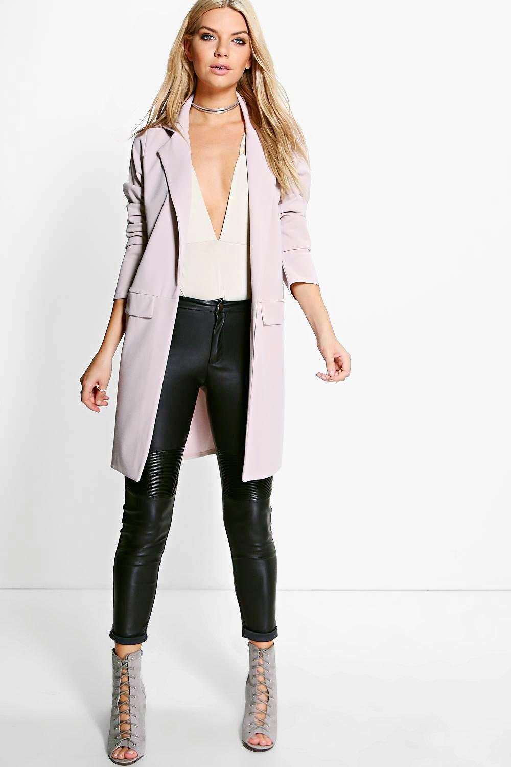 Libby Pocket Turn Up Boyfriend Blazer