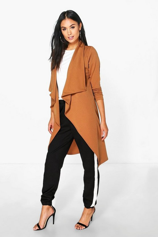 Jessica Shawl Collar Duster