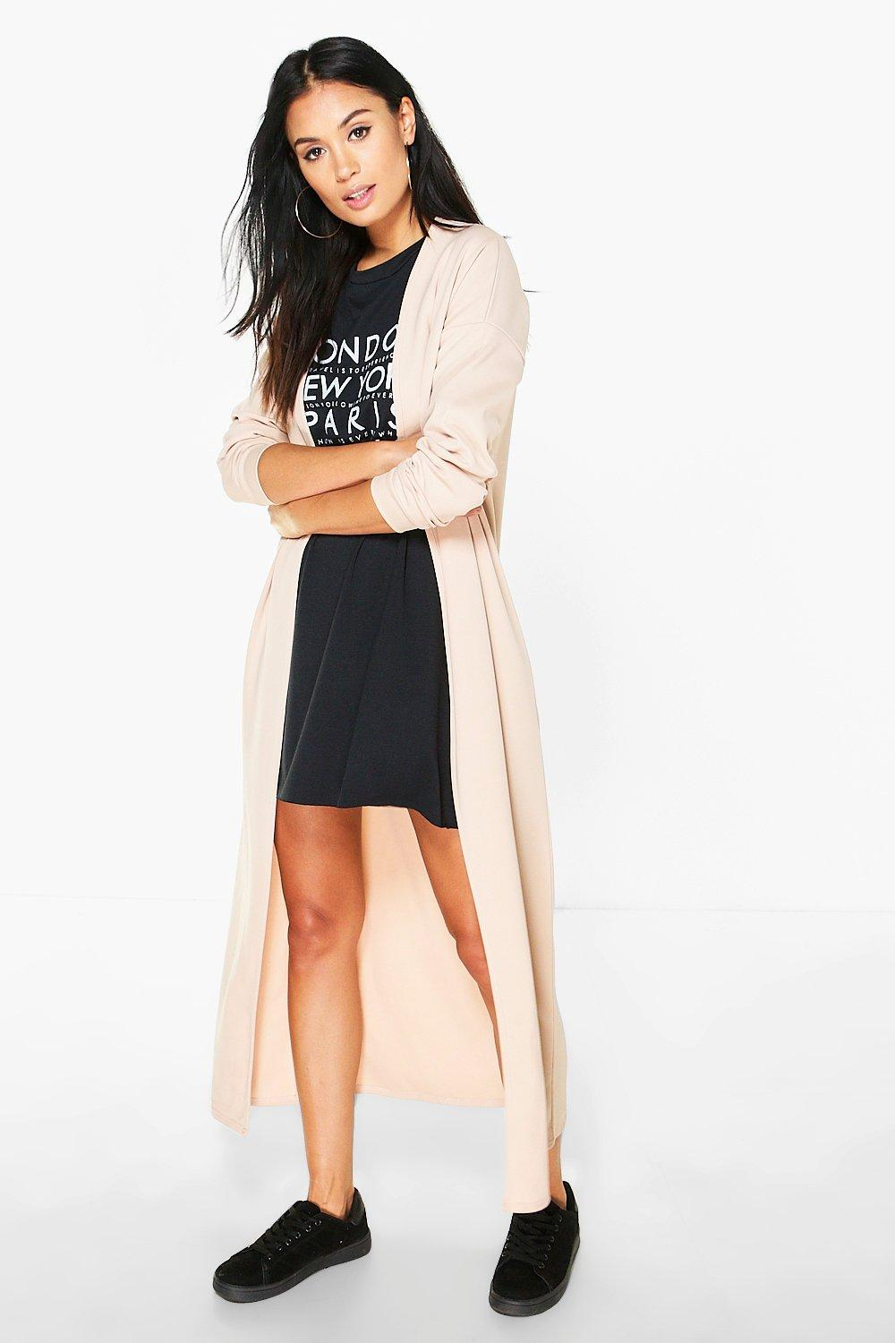 Niamh Maxi Collarless Duster