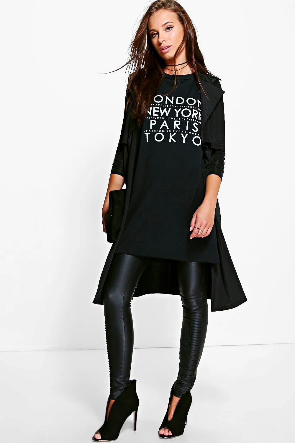 Slinky Trench Duster black