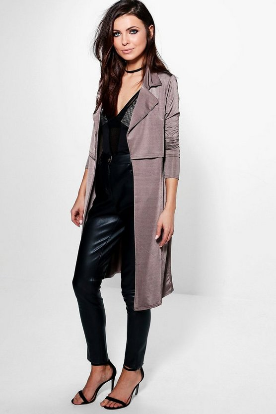 Darcy Slinky Trench Duster
