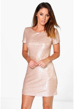 Boutique Kai Sequin Bodycon Dress