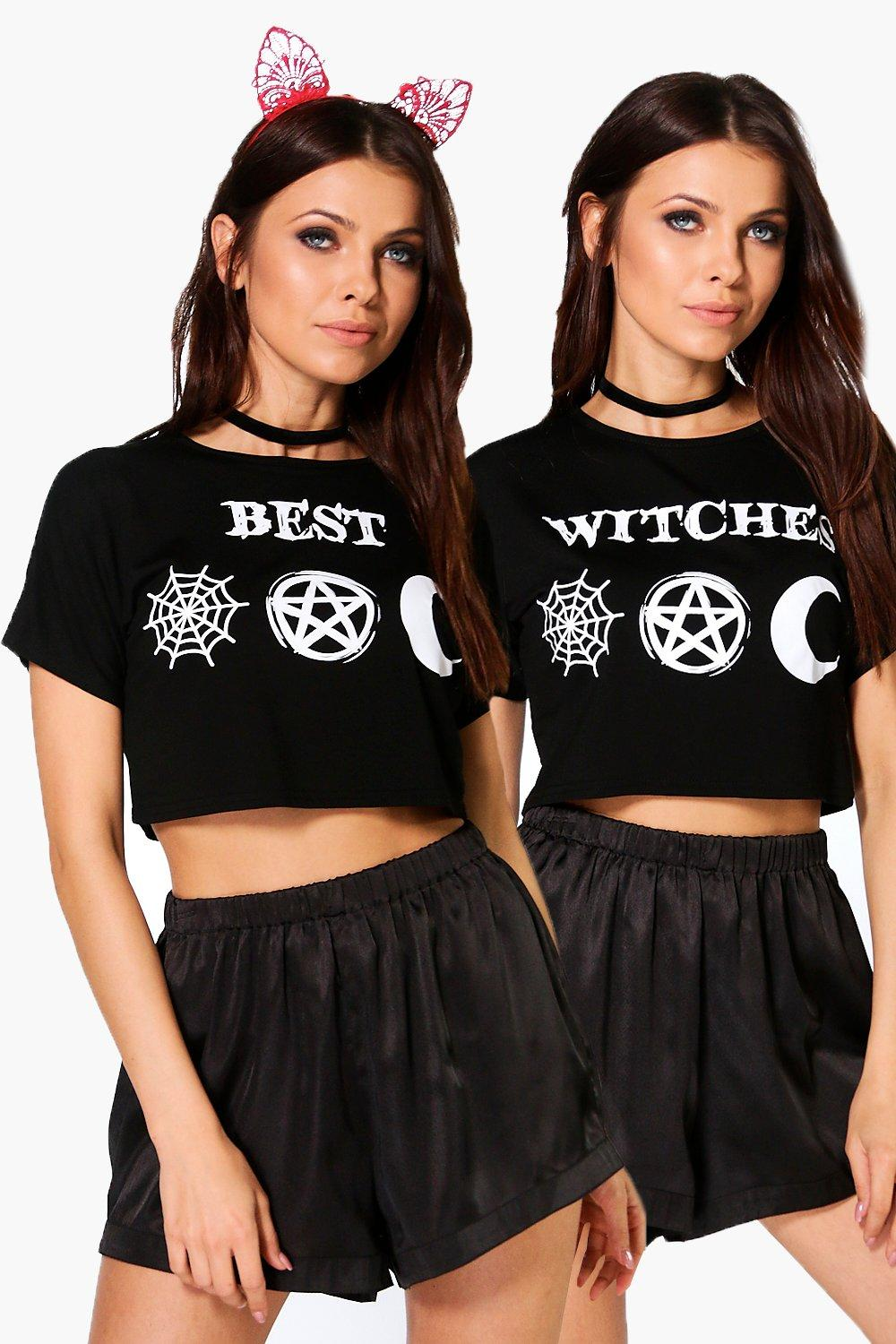 Freya Halloween Best Witches 2 Pack Crop Tops