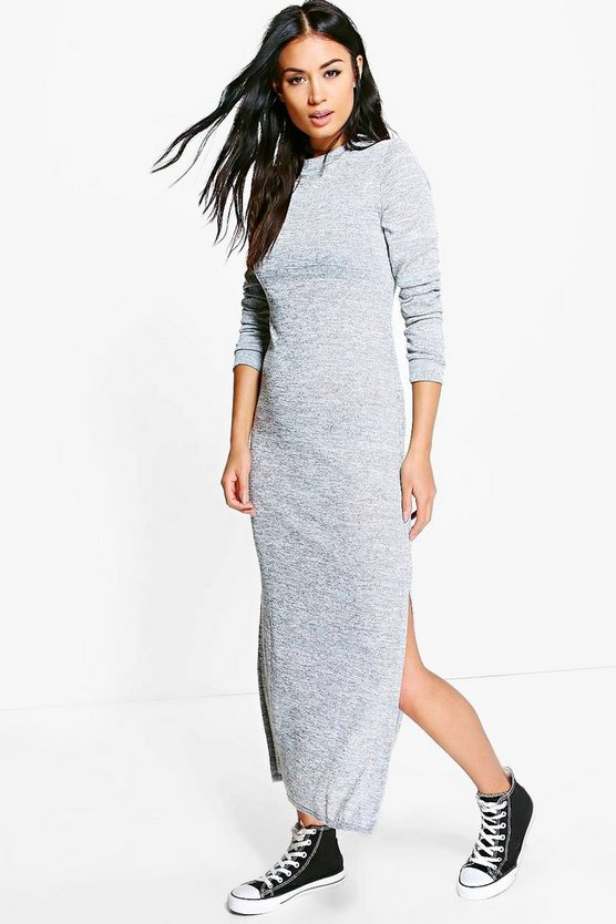 Eliza Knitted Maxi Lounge Dress