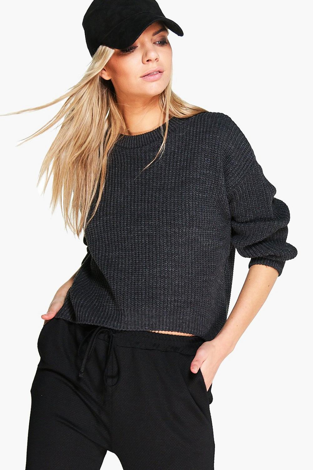 Charlotte Oversized Drop Shoulder Jumper