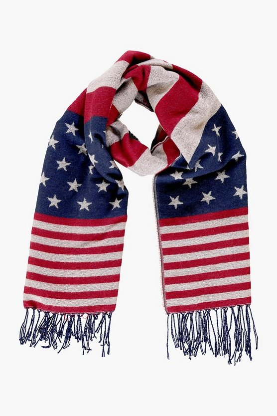 Hope USA Flag Oversized Scarf
