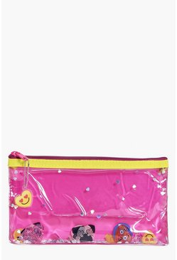 Emoji Liquid Make Up Bag