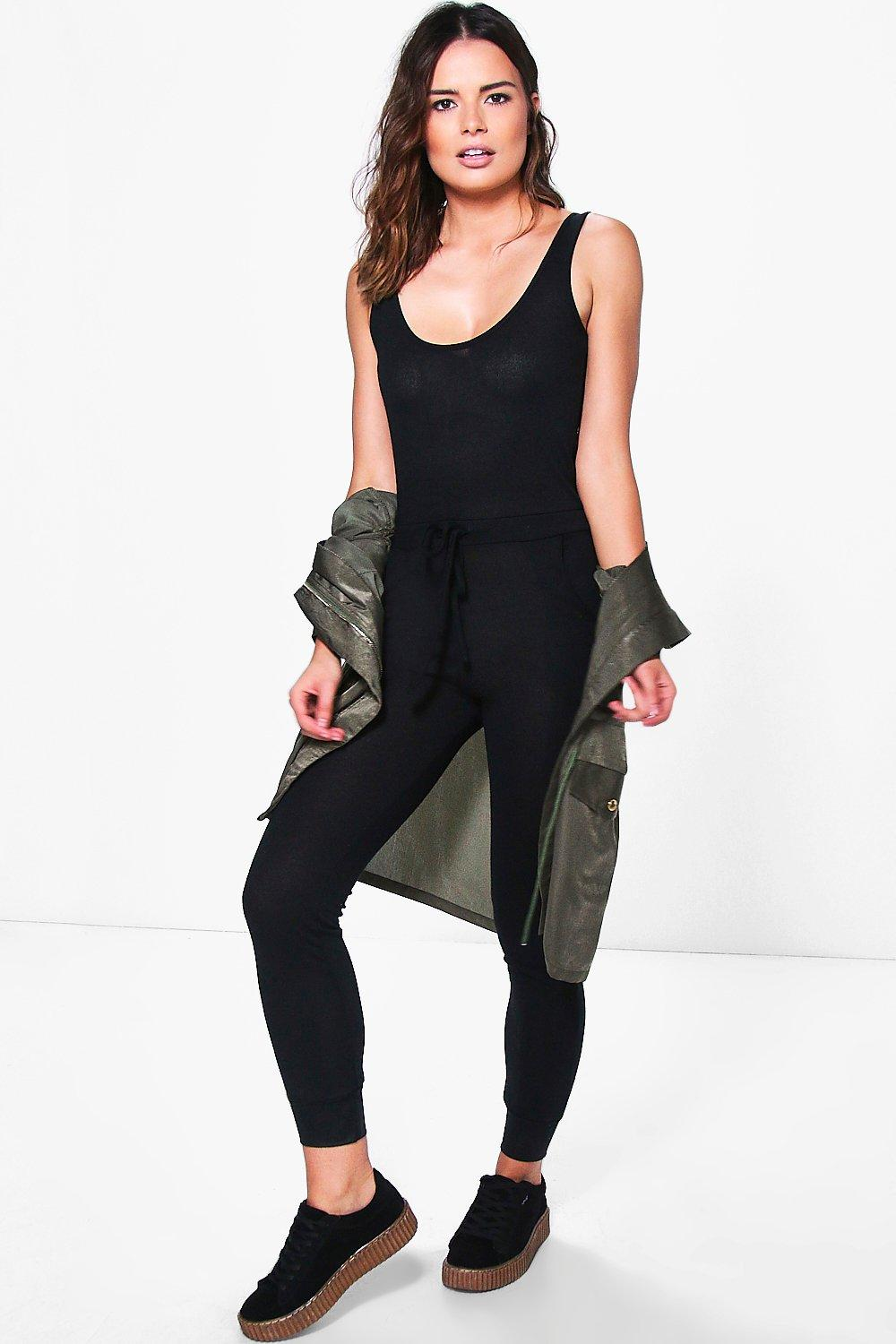 Georgia Relaxed Fit Pocket Lounge Jumpsuit