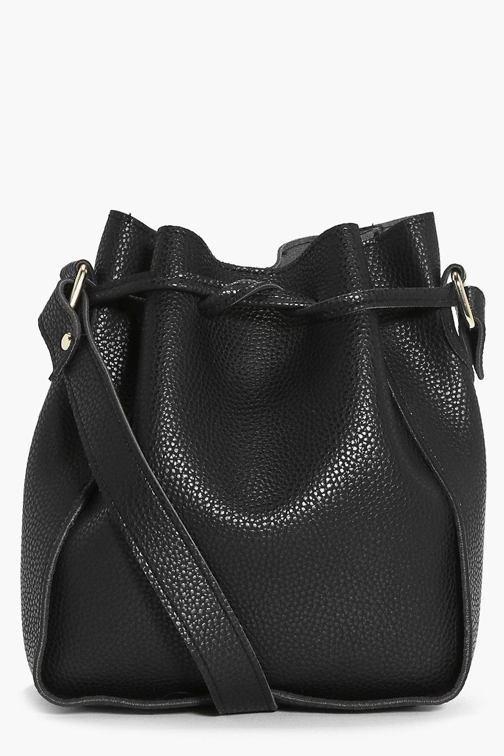 Structured Duffle Bag - black - Amelie Structured