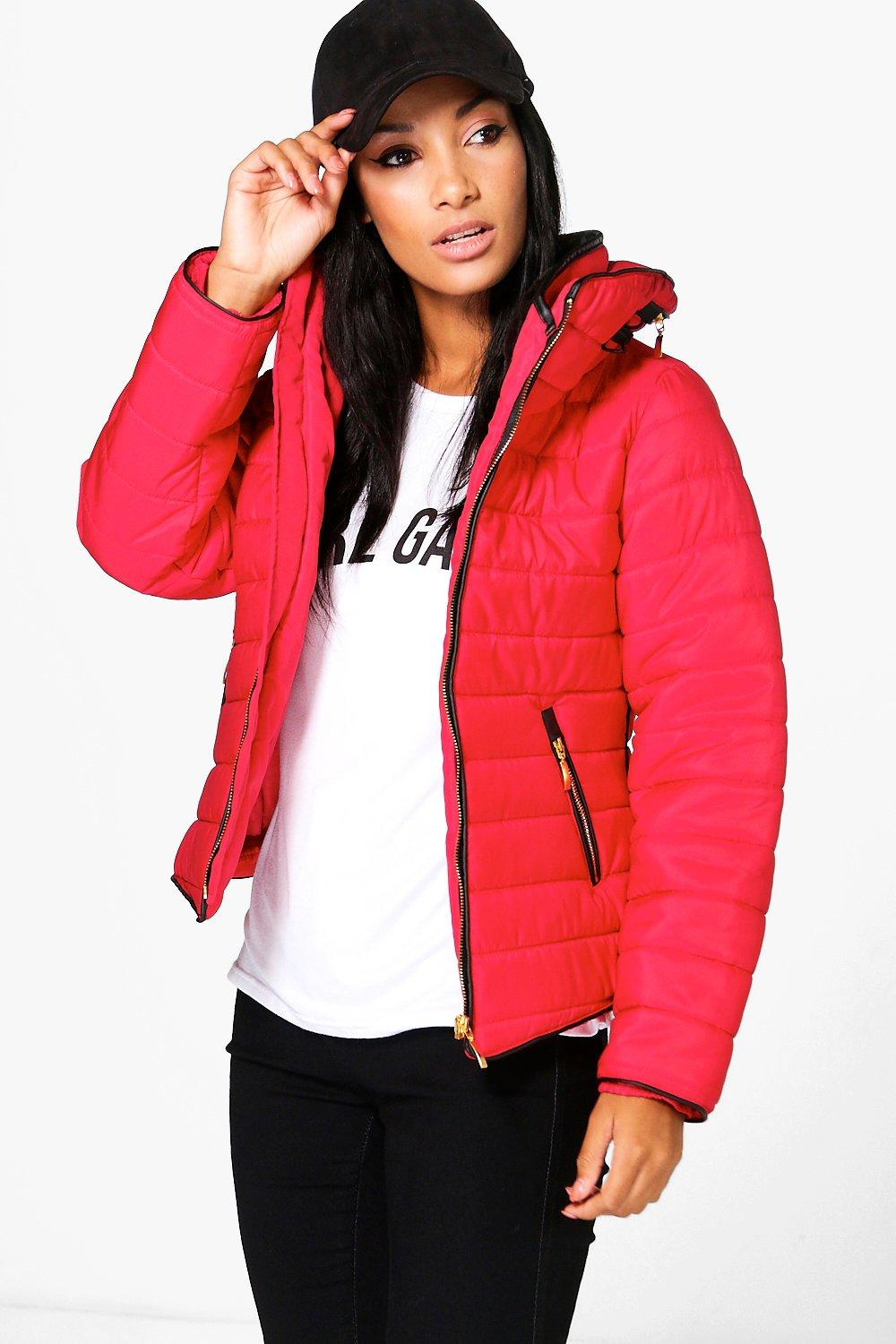 Lily Quilted Padded Jacket