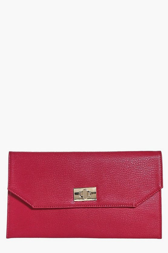 Eliza Twist Look Clutch Bag