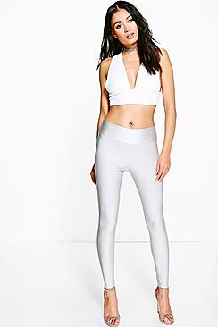 Amerie High Shine High Waist Disco Pants