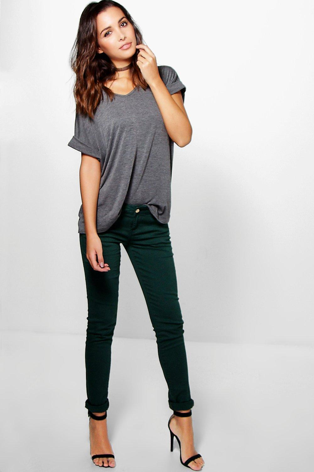 Emily Low Rise Skinny Jeans