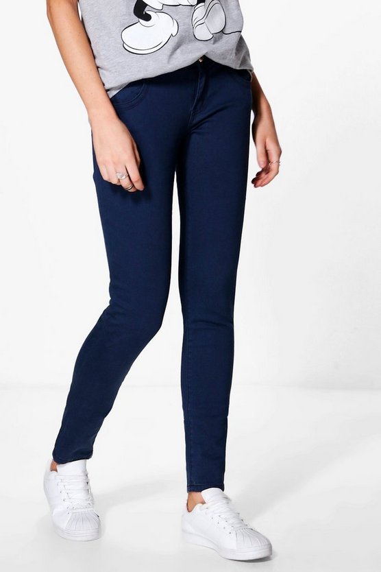 Louise Low Rise Skinny Jeans