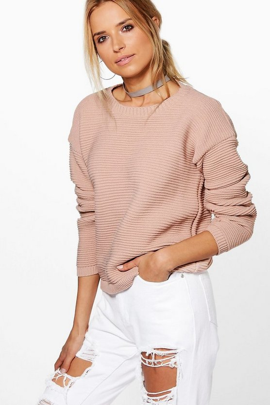 Rib Crop Jumper
