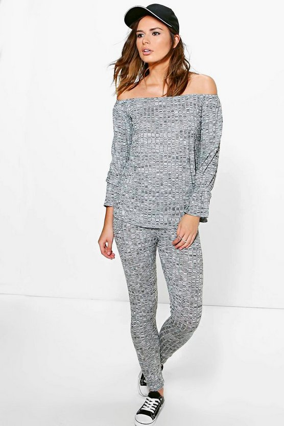 Emily Ruffle Sleeve Loungewear Set
