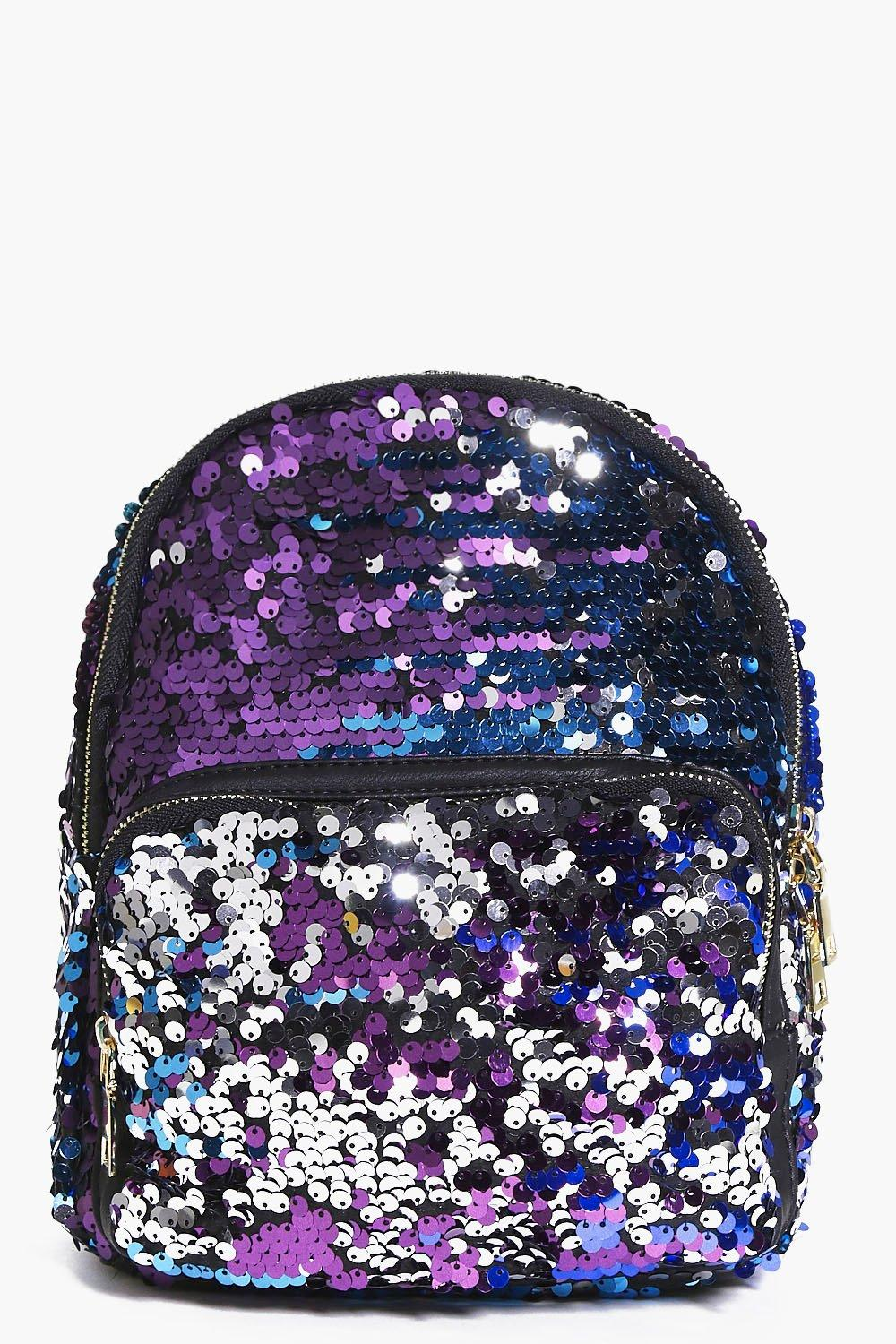 Esme Ombre Sequin Backpack