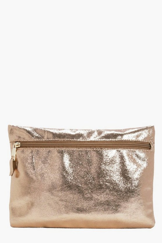 Julia Zip Front Clutch Bag