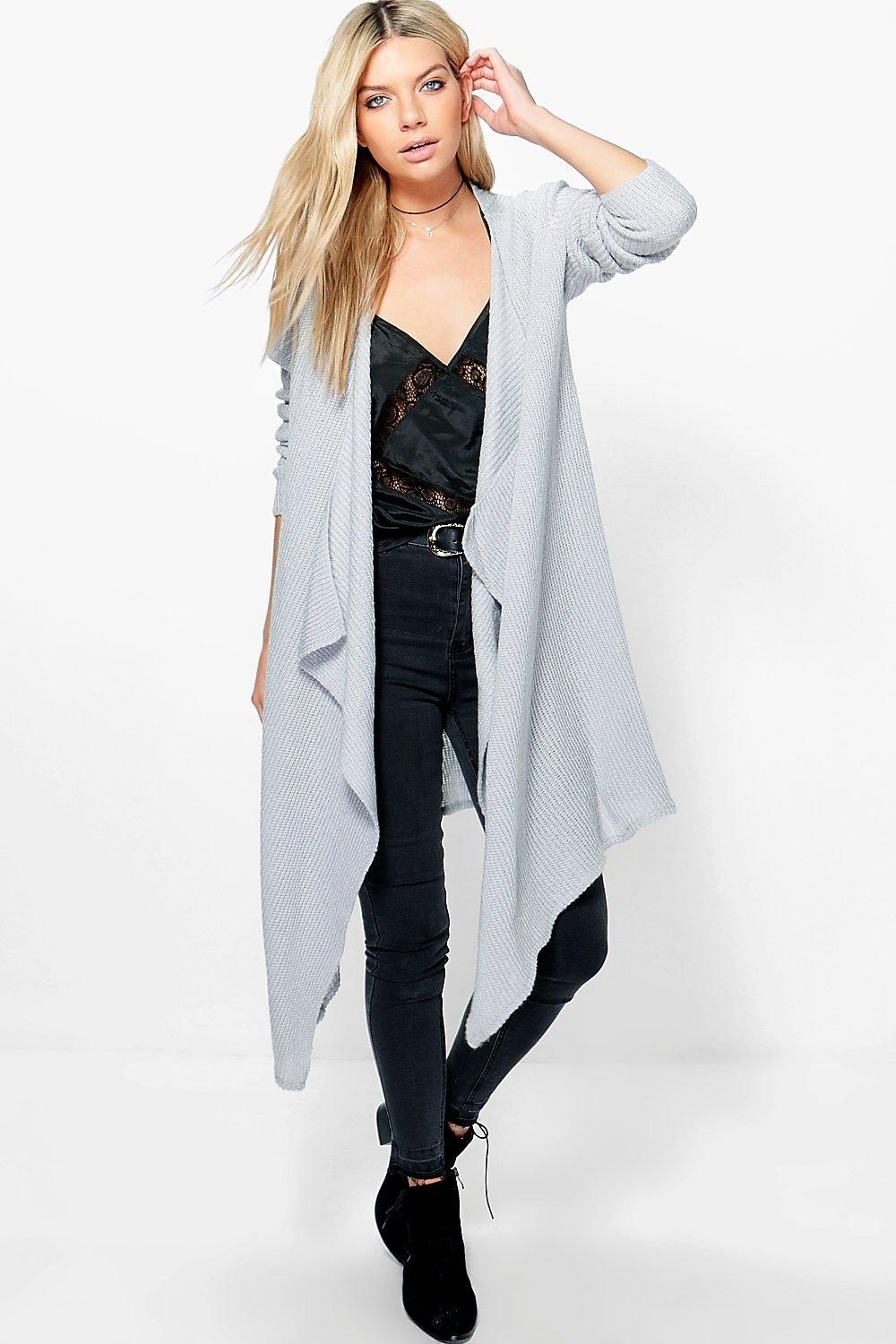 Libby Soft Knit Waterfall Cardigan