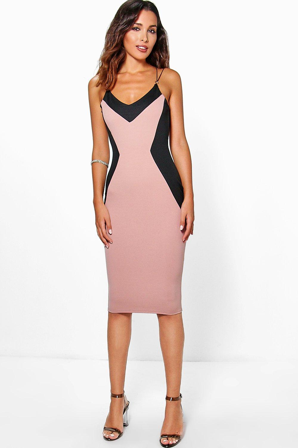 Laura Trim Detail Midi Dress
