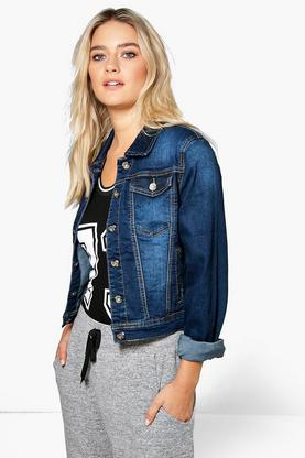 Mia Slim Fit Denim Jacket