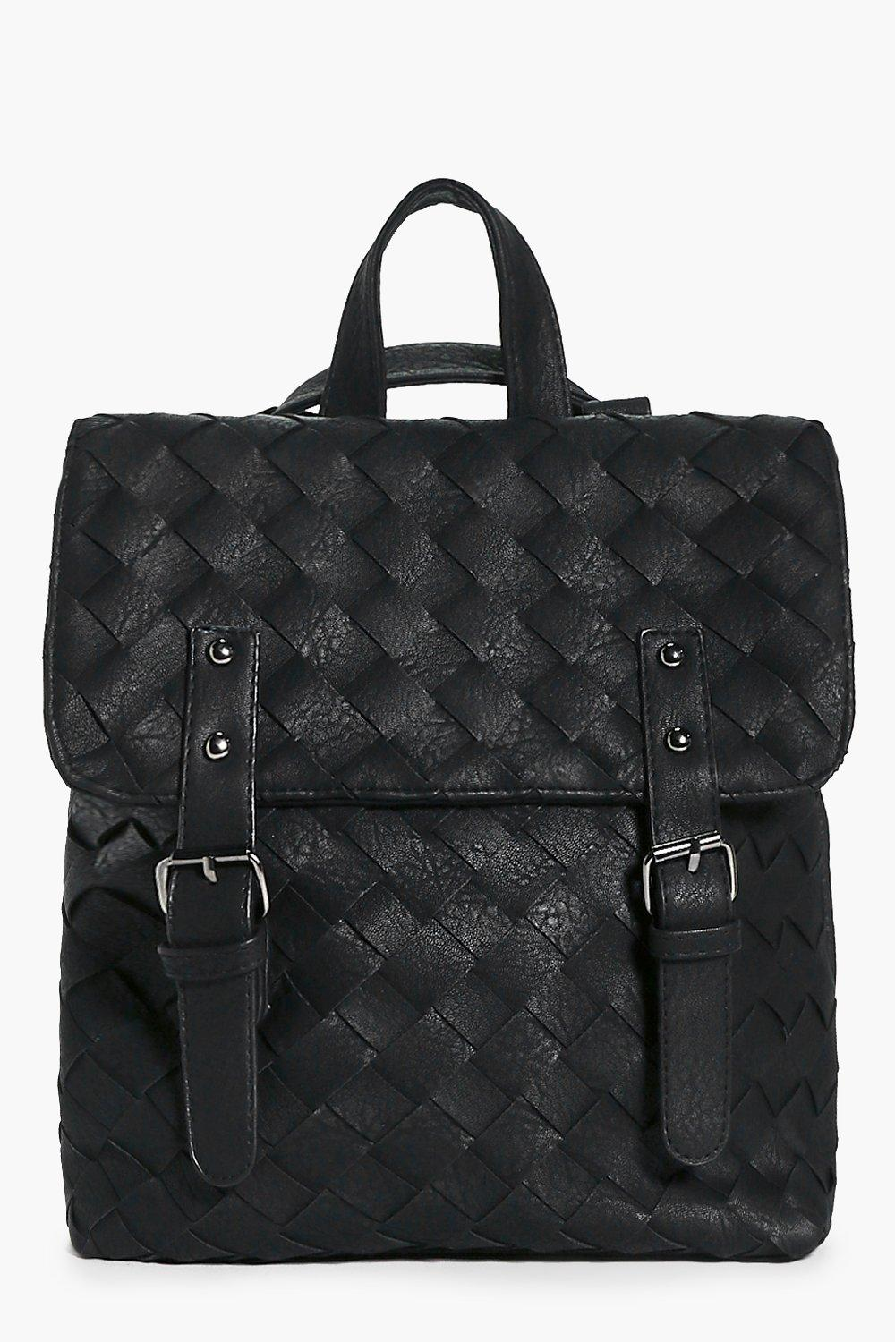 Bella Woven Double Buckle Back Pack