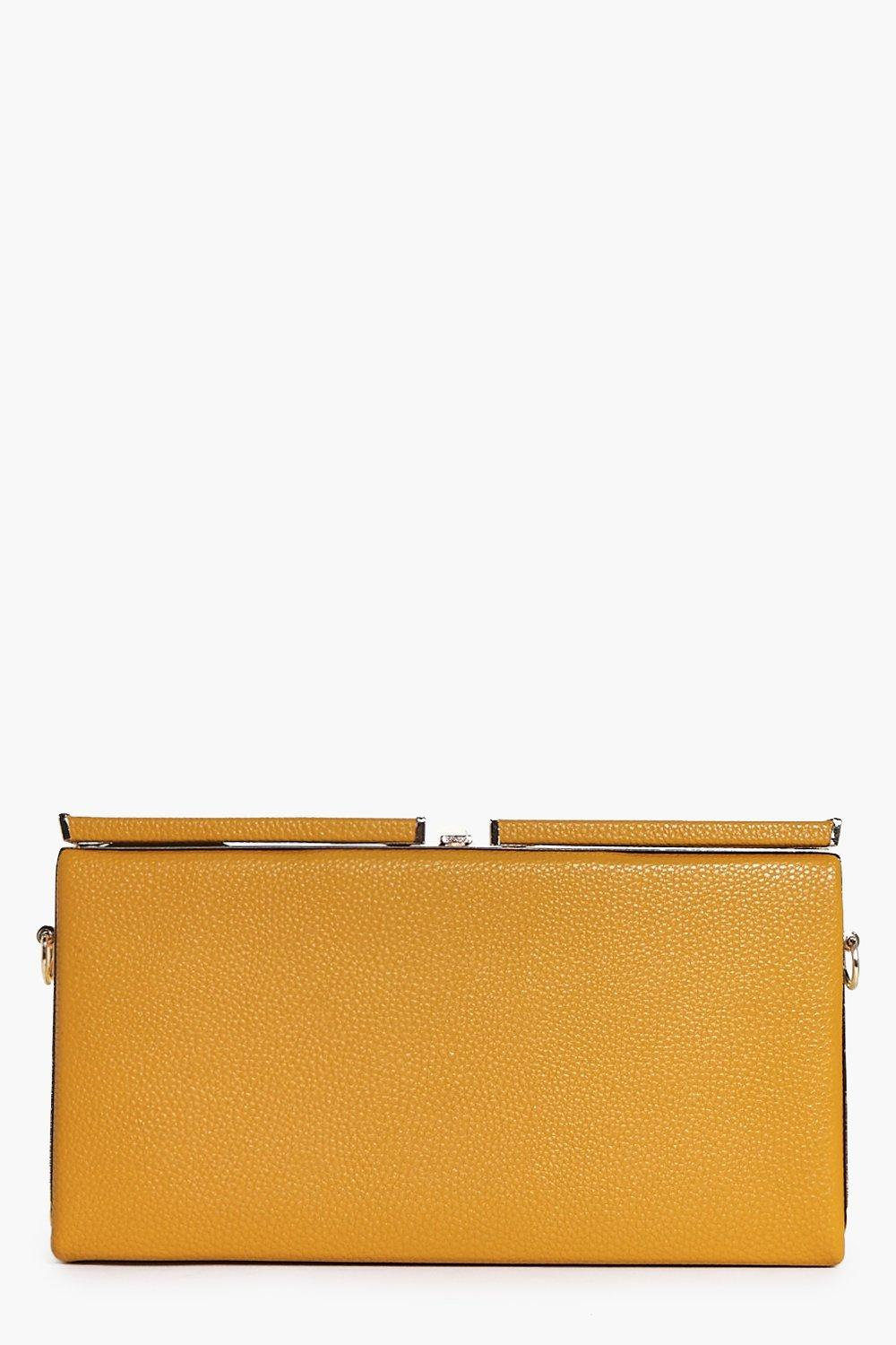 Emma Oversized Box Clutch