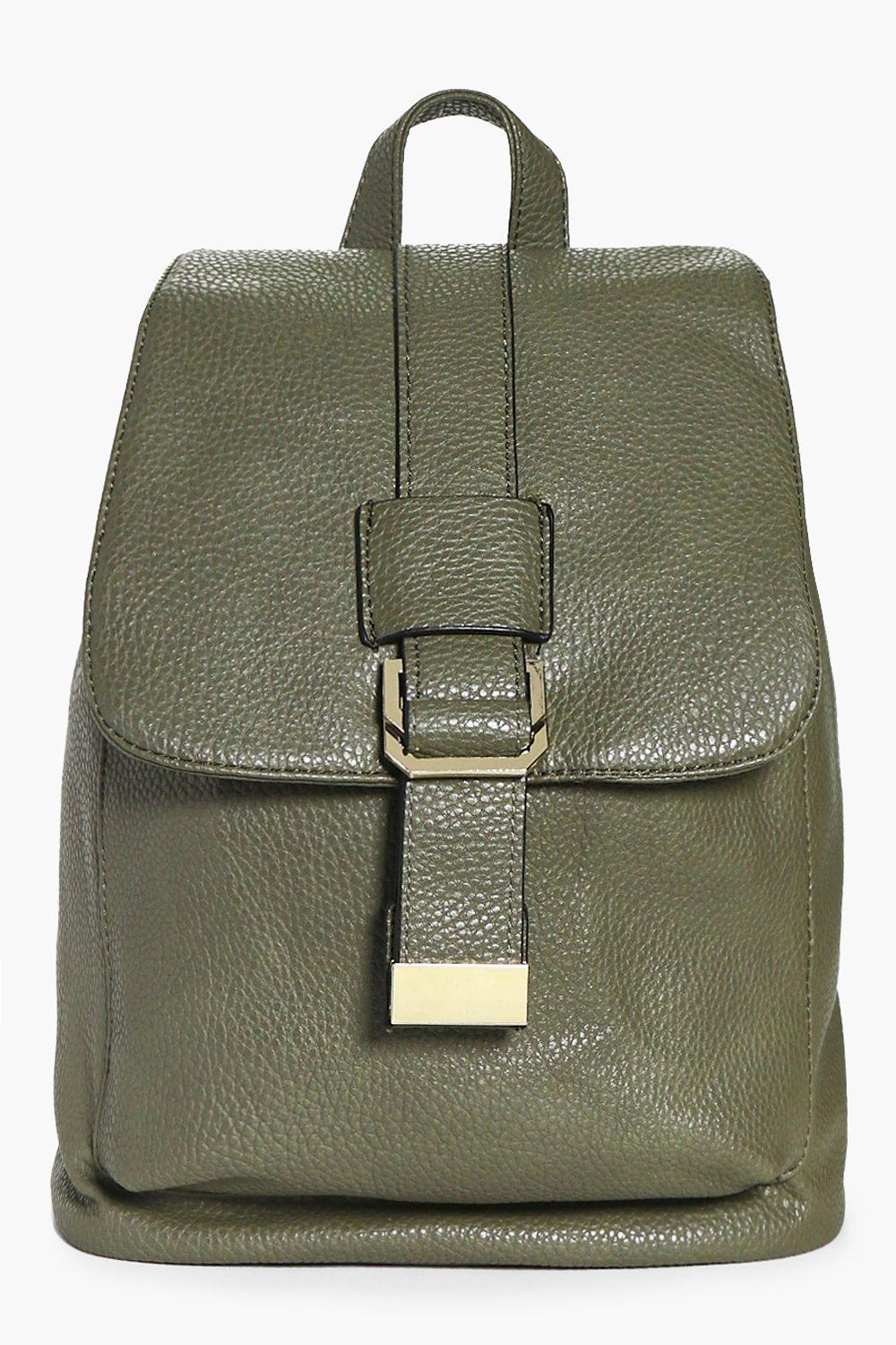 Mia Metal Detail Structured Backpack