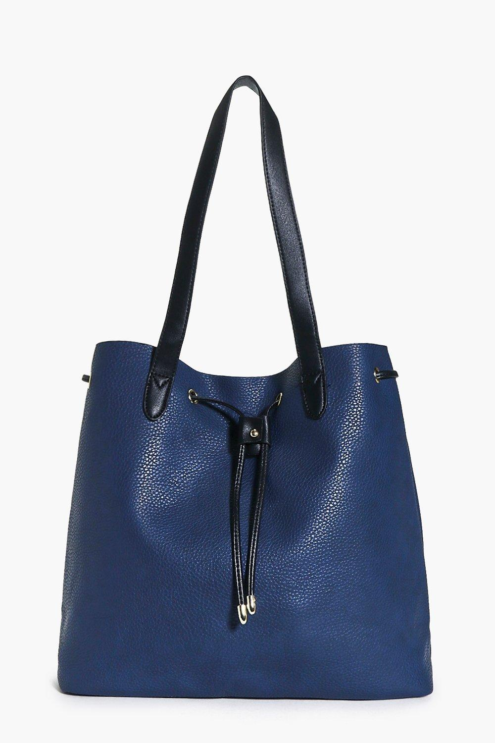 Lucy Metal Detail Slouch Shopper Bag