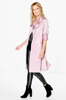 Boutique Alice Satin Midi Duster