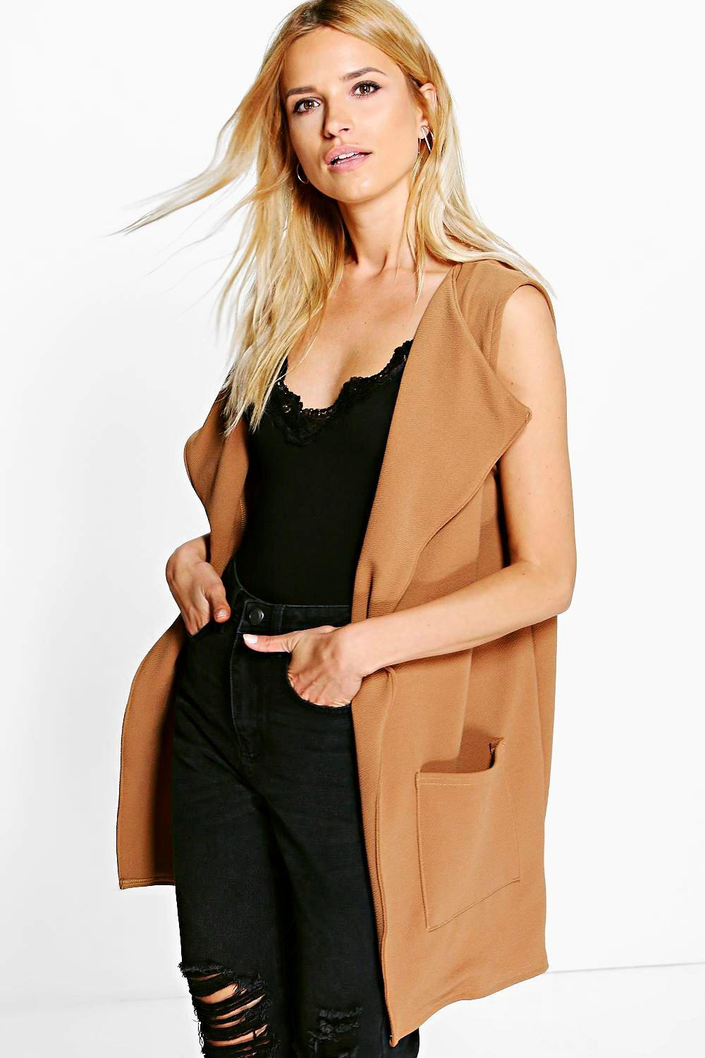 Lacey Sleeveless Pocket Duster