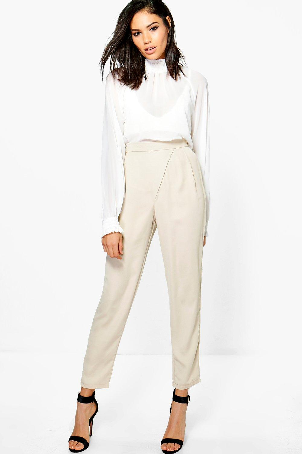 Holly Satin Wrap Trouser