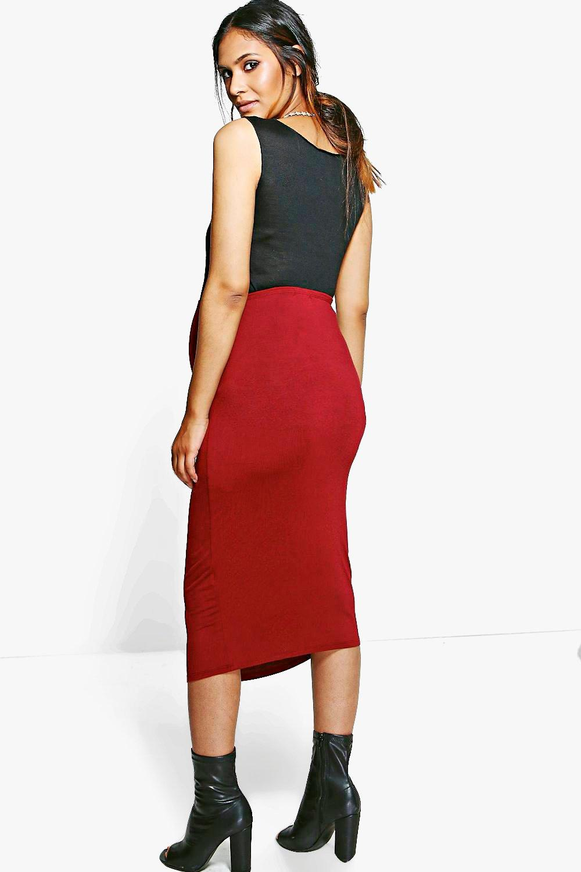 boohoo womens maternity casey the bump pencil skirt