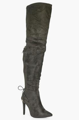 Nancy Pointed Toe Over The Knee Boot